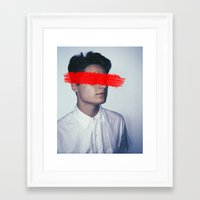 anonymous Framed Art Prints featuring Anonymous. by James Drysdale Photography