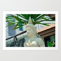 buddhism Art Prints featuring Buddhism by Bakal Evgeny