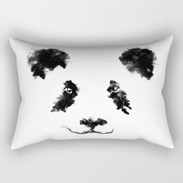 Clouds Panda Rectangular Pillow