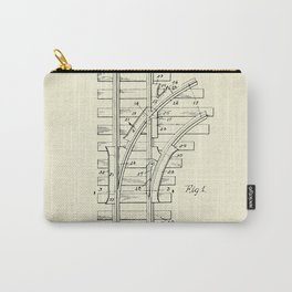 Railroad Track Construction-1932 Carry-All Pouch
