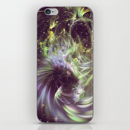 Twisted Time - Black Hole Effects iPhone Skin