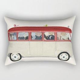 teds on tour Rectangular Pillow