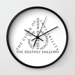 The Deathly Hallows Wall Clock