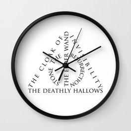 The Deathly Hallows Wall Clock