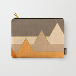 Orange Mountains #society6 #decor #buyart Carry-All Pouch