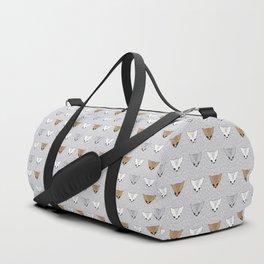 Shaggy faces Duffle Bag