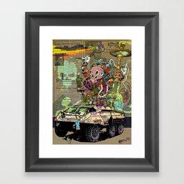 Warpath Framed Art Print