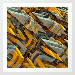 Transformer Fish Art Print