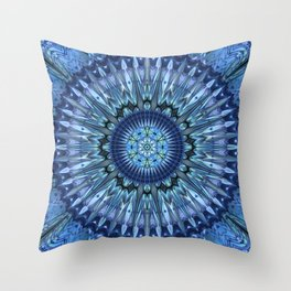 Brilliant invention to cool dear Earth - Abstract illustration Throw Pillow