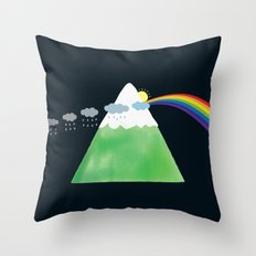 Prismountain Throw Pillow