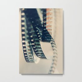 super 8 film Metal Print