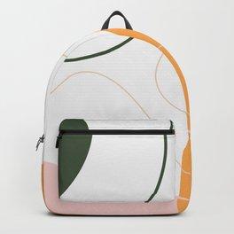 You Make Me Smile Modern Abstract Art V16 Backpack