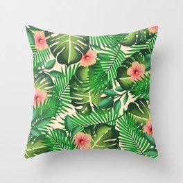 Tropics II Throw Pillow
