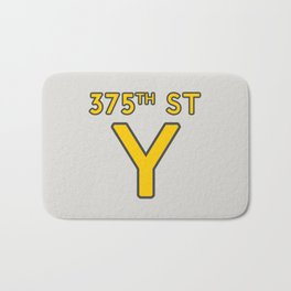 375th Street Y Bath Mat
