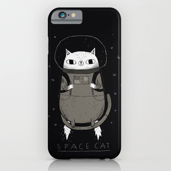 space cat iPhone & iPod Case