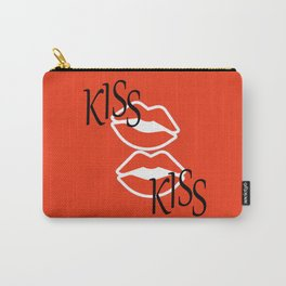 Kiss Kiss Carry-All Pouch