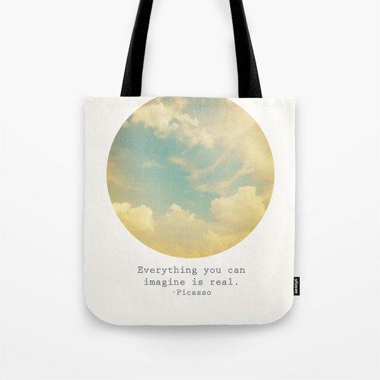Real Tote Bag