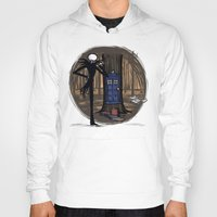 hallion Hoodies featuring What's This? What's This? by Karen Hallion Illustrations