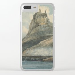 Lindisfarne Castle Clear iPhone Case