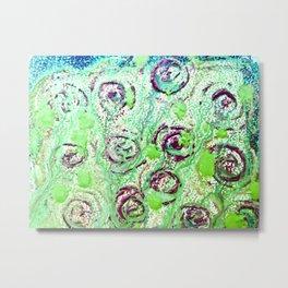 Snail Tide Metal Print
