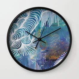 Lower than Atlantis Wall Clock