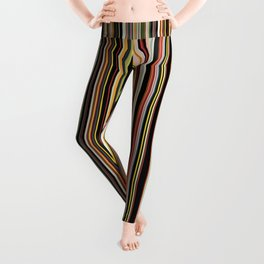 Old Skool Stripes - The Dark Side Leggings