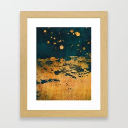 A Thousand Fireflies Framed Art Print