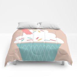 Ice Cream (Peach) Comforters