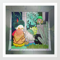 Garden Club Art Print