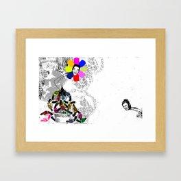 I Shit Andy Warhol 2 - Horizontal Version 2010 Framed Art Print