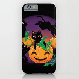 Hello Cat Halloween iPhone Case