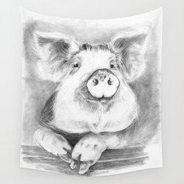 Mr Piggy Wall Tapestry