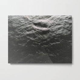 Water Texture Metal Print