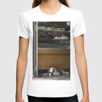 english bulldog T-shirts featuring English Bulldog by sovichka