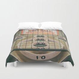Skee Ball Game Duvet Cover