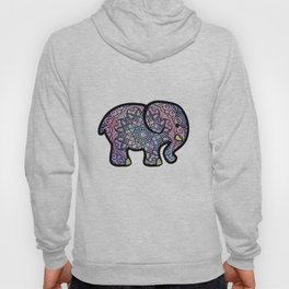 Galaxy Mandala Elephant Art Hoody