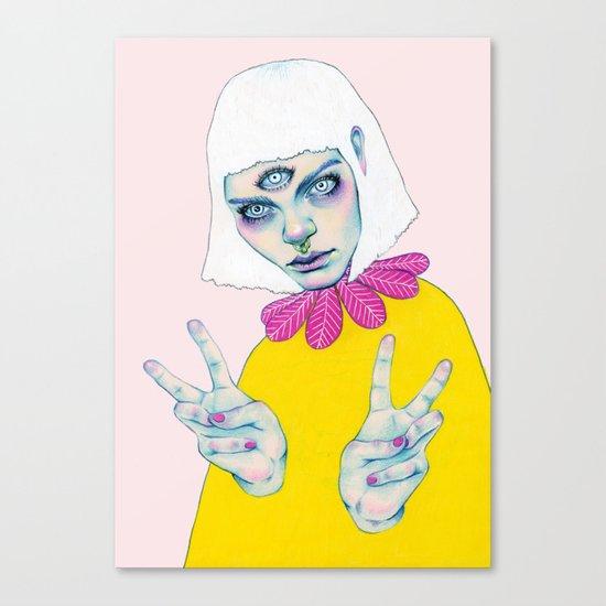Bablien II - Space Princess Canvas Print