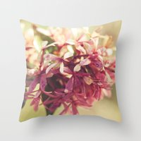 blush Throw Pillows featuring Blush by BURNEDINTOMYHE∆RT♥