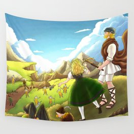 William Tell Freedom Fighter Wall Tapestry