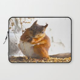 Mommy Squirrel  Laptop Sleeve