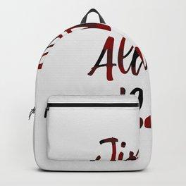 Jingle All The Bae Backpack