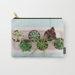Mini potted succulents Carry-All Pouch