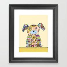 Puppy & Me Framed Art Print