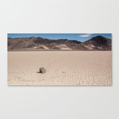 A Rock that moves Canvas Print