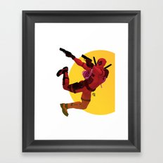 Who said chimichanga Framed Art Print