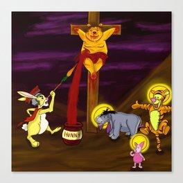 Eeyore 3:16 Canvas Print