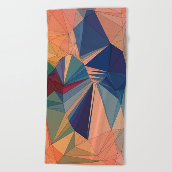 Everything is Everything Beach Towel