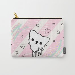Chihuahualicious - Big Heart in Tiny Body Carry-All Pouch