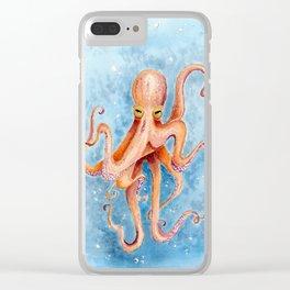 The Kraken Clear iPhone Case