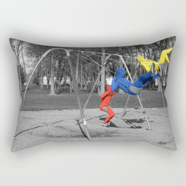 Free Spirits in Spandex - Color Pop Rectangular Pillow